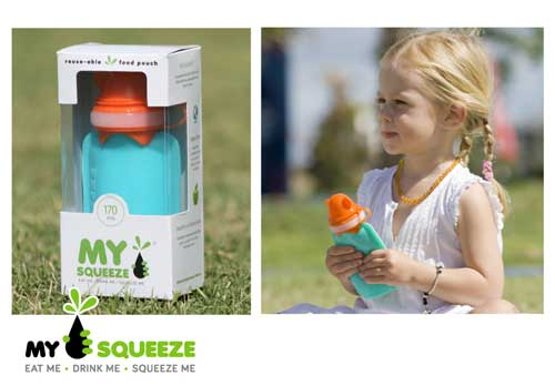MY SQUEEZE food pouch