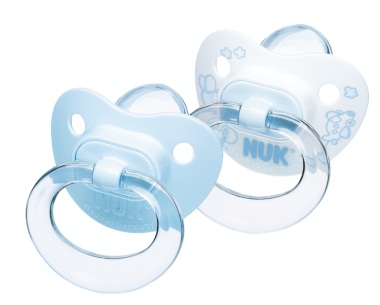 NUK - Soother - Blue - 2pk - Stage 2 6-18mts (2)