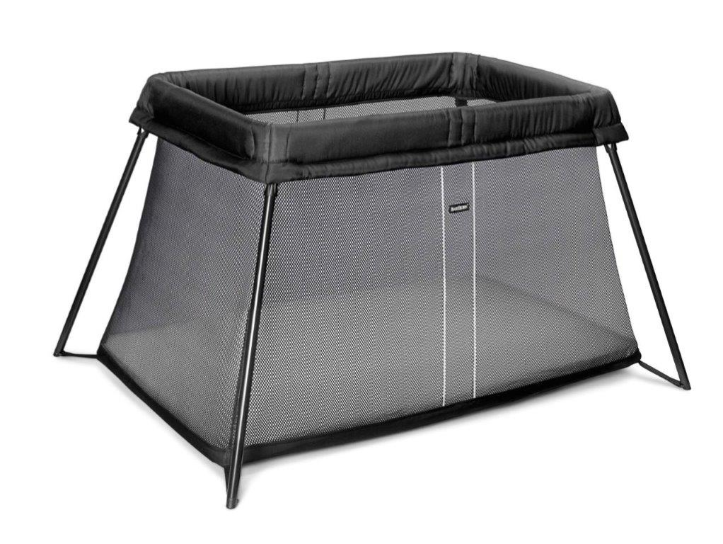 Babybj 214 Rn Travel Cot Light Black Amp Grey Save Our Sleep