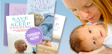 Save Our Sleep Baby Diary & Tizzie Hall's Save Our Sleep Book, also keep baby warm with baby safe baby sleeping bags