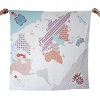 Weegoamigo - Printed Muslin - World Map